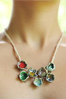 Náhrdelníky - náhrdelník Lupienok - 10127898_