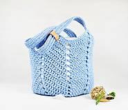 Kabelky - Taška / kabelka veľká Lignt blue - 10125930_