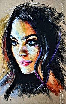 Obrazy - portrety - 10124564_