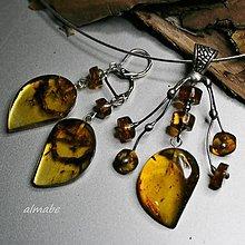 Sady šperkov - Jantarová souprava (Mexiko) - 10127019_