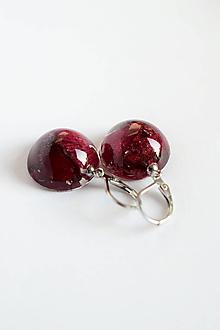 Náušnice - Náušnice Ruža (2527 A CHO) - 10127440_