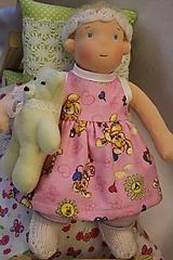 Hračky - Waldorfská panenka miminko s hračkou - 10125272_