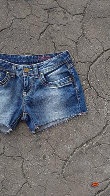 Nohavice - recy džínové kraťasy, CROSS - 10128142_