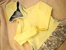 Detské oblečenie - Mikinka banániková - 10125666_