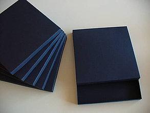 Krabičky - tmavomodrá.. - 10125657_