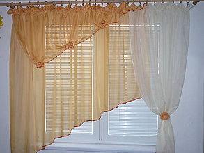 Úžitkový textil - Záclona - 10125411_