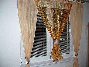 Úžitkový textil - Záclona - posledný kus - 10125434_