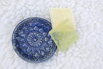 Nádoby - Mydelnička - čipkovaná kolekcia - 10125054_