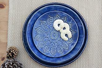Nádoby - Dezertný tanier - čipkovaná kolekcia - 10125168_