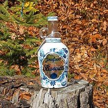 Iné - Ozdobná fľaša Jozefova Slivovica - 10127197_