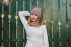 Čiapky - Ružový set - 10127900_