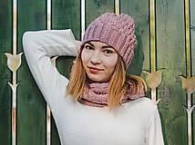 Čiapky - Ružový set - 10127907_