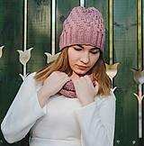 Čiapky - Ružový set - 10127926_