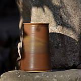 Nádoby - Kameninová váza/ vázička Temelín - Klasik Rustikal - 10125230_