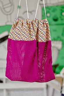 Úžitkový textil - 2ks vrecúško na ovocie a zeleninu - 10127815_