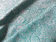 Textil - Baby Monkey King Of Pumpkins - 10124667_