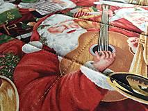 Úžitkový textil - Musical Christmas - 10124925_