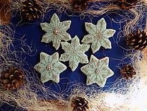 dekoratívne medovníky....modré,balíček