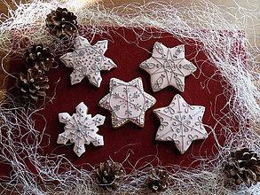 Dekorácie - Dekoratívne medovníčky....ružové,balíček - 10126380_
