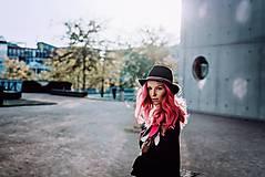 Ozdoby do vlasov - Ružová multifunkčná čelenka - 1 kus - 10127481_