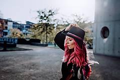Ozdoby do vlasov - Ružová multifunkčná čelenka - 1 kus - 10127483_
