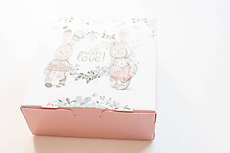 "Obalový materiál - Darčeková krabička ""cute "" - 10127209_"