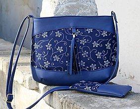 Kabelky - Rita modrá 1 + taštička - 10125886_