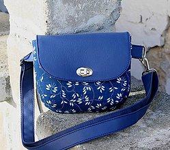 Iné tašky - ľadvinka Lujza modrá 2 - 10125906_