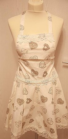 Iné oblečenie - bavlnené zásterky - 10124397_