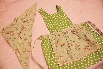 Iné oblečenie - detská zásterka do kuchyne - 10124409_