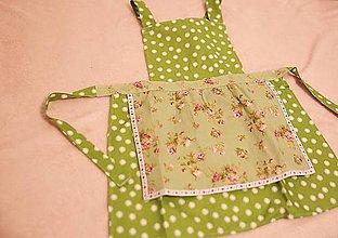 Iné oblečenie - detská zásterka do kuchyne - 10124411_