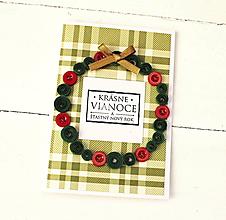 Papiernictvo - vianočná pohľadnica - 10125069_