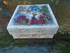 Krabičky - vianoce - 10126461_