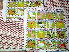 Textil - Sada na pexeso NA STATKU 4ks panelů - 10129183_