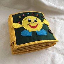 Hračky - Interaktívna textilná hračka / kniha pre deti - 10129847_