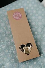 Drobnosti - Extra darčeková krabička (Srdiečková krabička na polievkové lyžice) - 10128471_