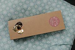 Drobnosti - Extra darčeková krabička (Srdiečková krabička na polievkové lyžice) - 10128473_