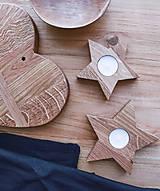 Dekorácie - hviezdy, set 2 ks - 10130832_