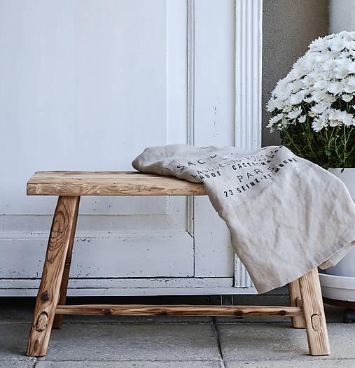 lavica I. / príručný stolík
