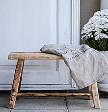 Nábytok - lavica I. / príručný stolík - 10132248_