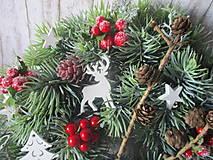 Dekorácie - Vianočný venček - 10129155_