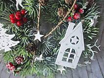 Dekorácie - Vianočný venček - 10129157_