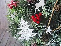 Dekorácie - Vianočný venček - 10129158_