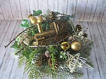 Dekorácie - Vianočná dekorácia - 10129192_