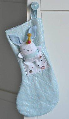 Textil - Mikulášska pančucha - 10128378_