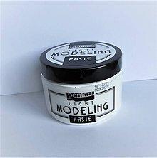 Farby-laky - Modelovacia pasta ľahká-Modeling paste 150 ml - 10131920_