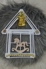 Dekorácie - Vianočný domček - 10130649_