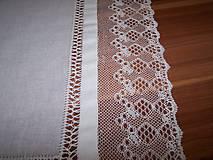Úžitkový textil - Paličkovaná čipka II. (dečka, obrus) - 10129991_