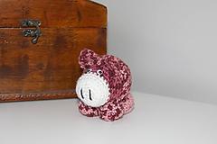 Hračky - Prasiatko- ružový melír - 10129447_