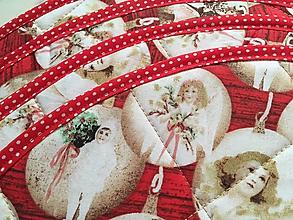 Úžitkový textil - vianočné gule -sada prestierok - 10128508_